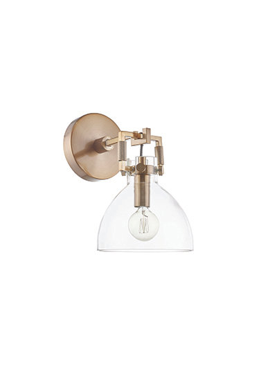 Albert Wall Sconce - Industrial Gold