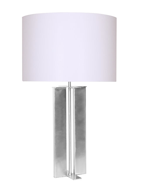 Karson Table Lamp - Brushed Steel
