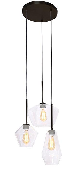 Tria Ceiling Lamp - Dark Brushed Bronze