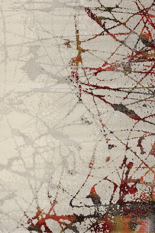 Skylar Multicolour Splatter Door Mat