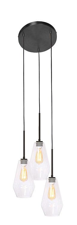 Sia Ceiling Lamp - Dark Brushed Bronze