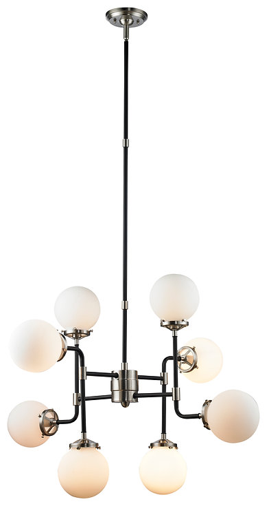 Paris Chandelier - Brushed Nickel