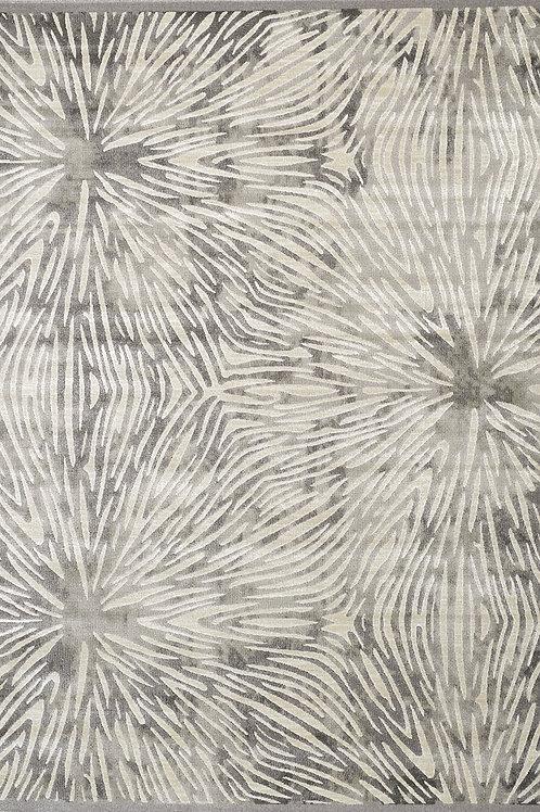 Adonis Grey Floral 8x11 Rug