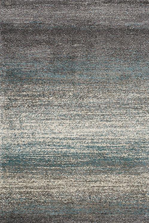 Klaus Grey Blue Shag 5x8 Rug
