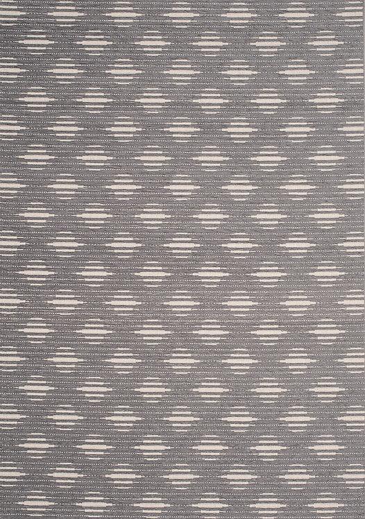 Veera Grey Trellis Indoor/Outdoor 5x8 Rug