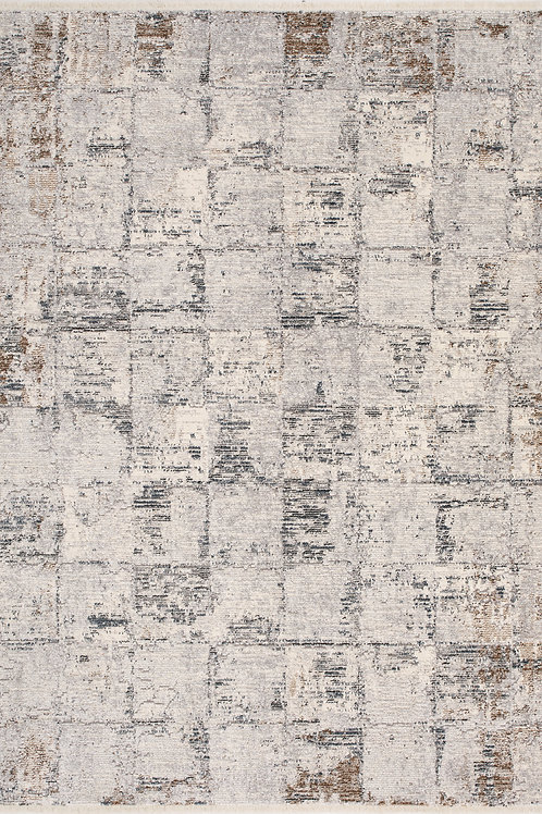 Eaton Grey Distressed 5x8 Rug