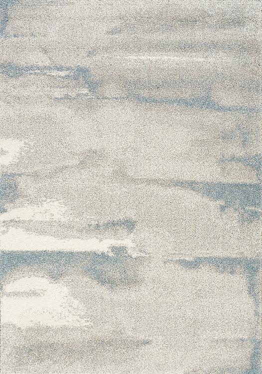 Sahara Grey Stripe 8x11 Rug