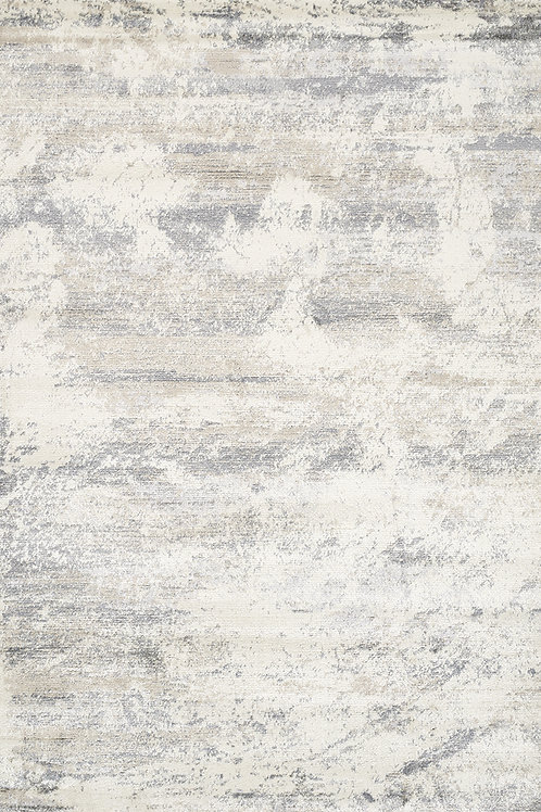 Allura Cream Grey Distressed 6x9 Rug