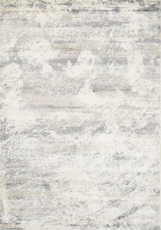 Allura Cream Grey Distressed 3x5 Rug
