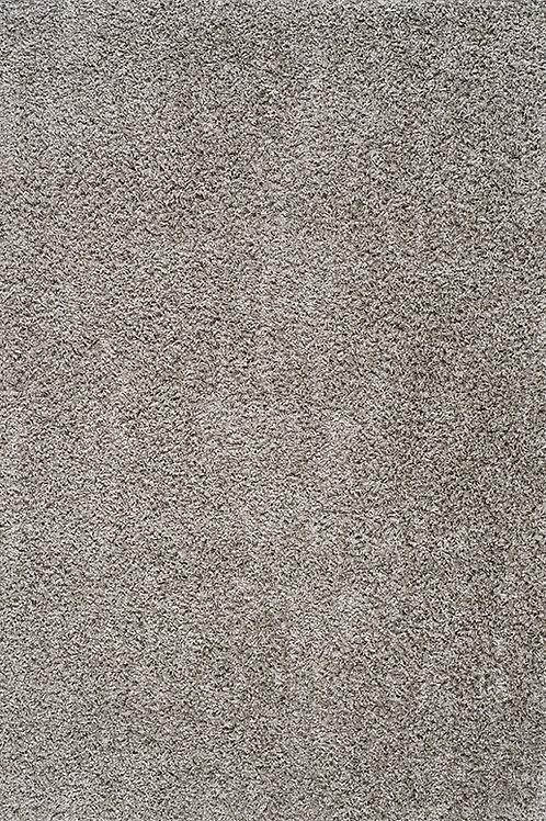 Plush Light Grey Shag 8x11 Rug