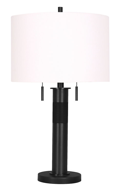 Chasney Table Lamp - Matte Black