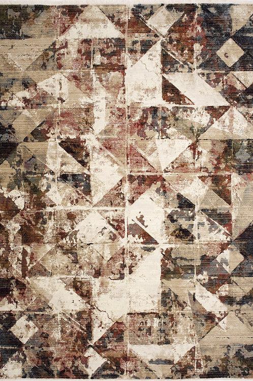 Soraya Distressed Triangles 5x8 Rug