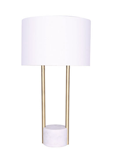 Austin Table Lamp - Marble