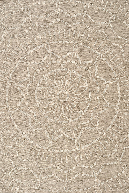Vasto Beige Indoor/Outdoor 5x8 Rug