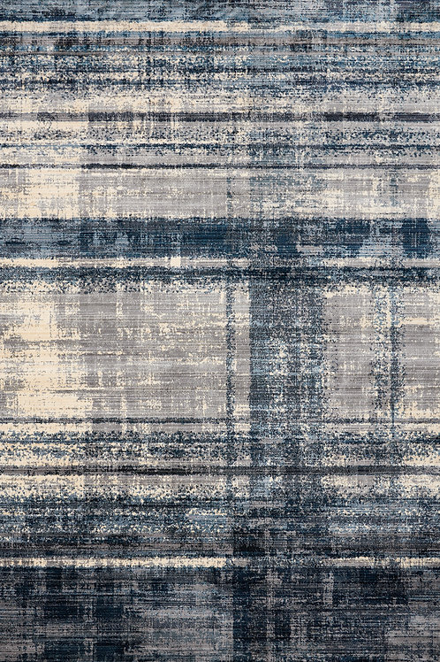 Templer Blue Distressed 8x11 Rug
