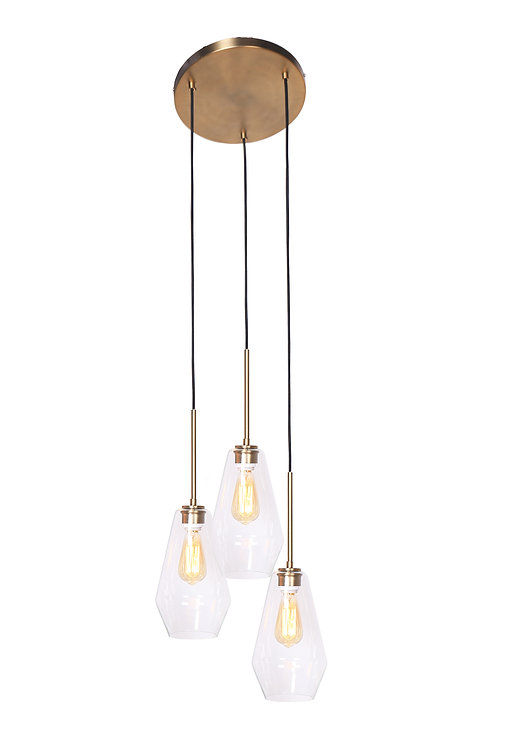 Sia Ceiling Lamp - Brushed Gold