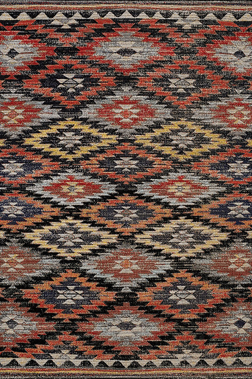 Stafford Tribal Flatwoven 5x8 Rug
