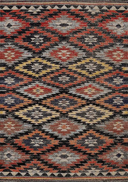 Stafford Tribal Flatwoven 8x11 Rug
