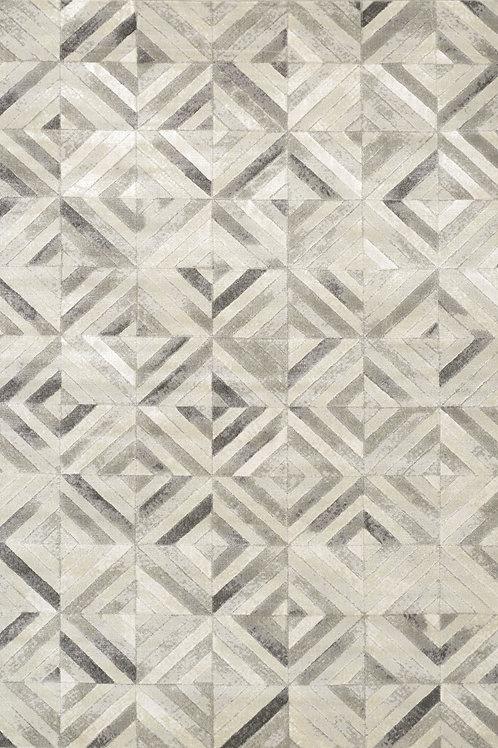 Adelaide Grey Tile 3x5 Rug