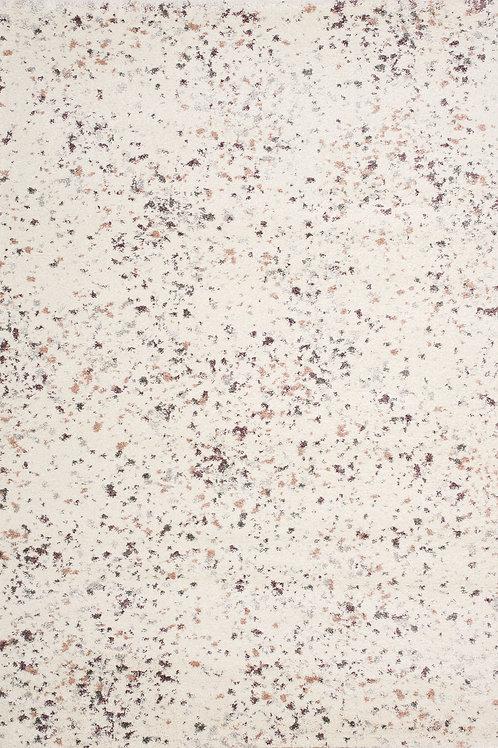 Savoir Cream Pink Grey Speckled 5x8 Rug