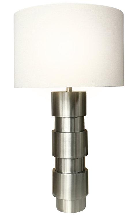 Quarrel Table Lamp High - Brushed Steel