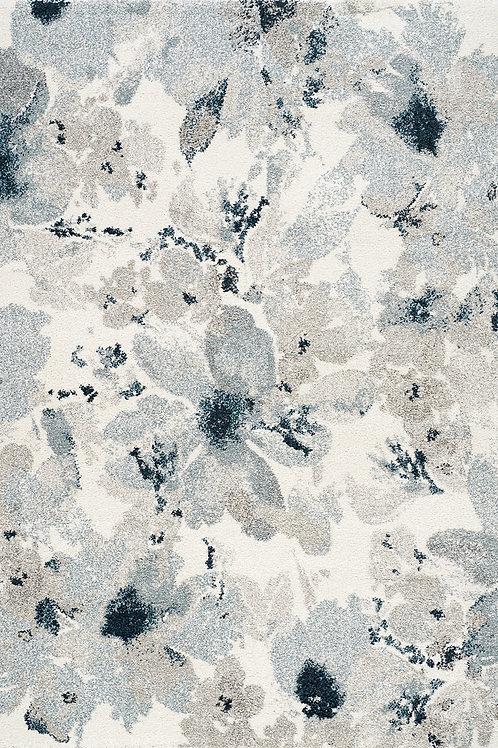 Sargon Blue Floral 8x11 Rug