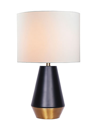 Liam Large Table Lamp - Gold