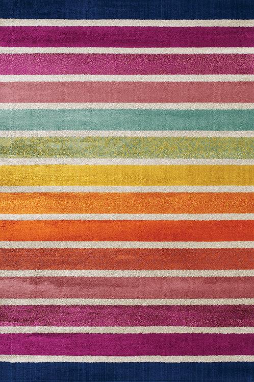 Blossom Multicolour Stripe 5x8 Rug