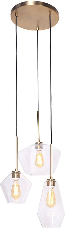 Tria Ceiling Lamp - Brushed Gold