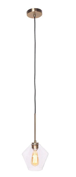 Mia Pendant Lamp - Brushed Gold