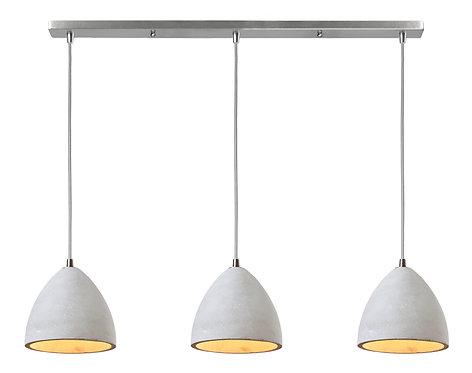 Concrete Linear Ceiling Light