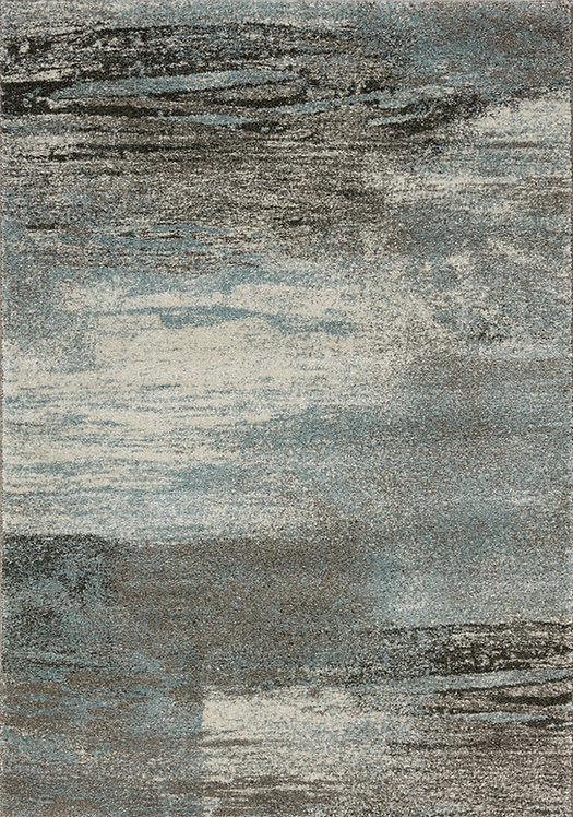 Baily Grey Distressed 8x11 Rug