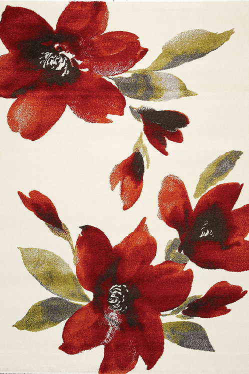 Sia Watercolor Floral 5x8 Rug