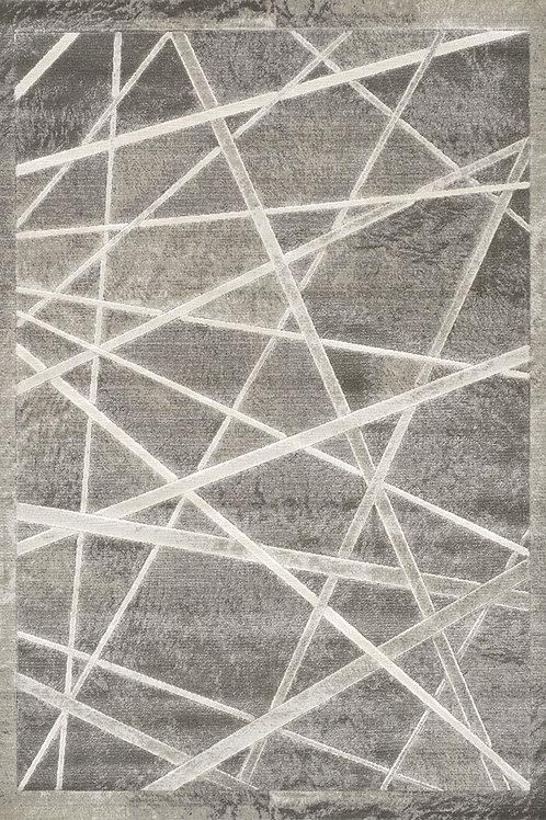 Abigail Grey Geometric Runner