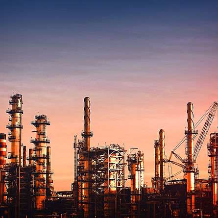 stockvault-oil-refinery-at-dusk---vivid-