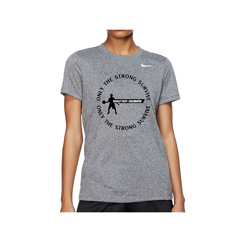 Women Nike Dri Fit RD Only the Strong Survive Tee