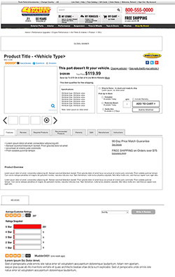 4Wheel Parts - wireframe