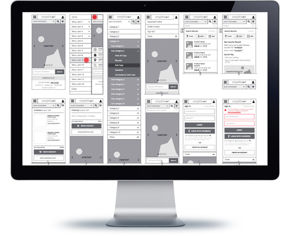 wireframes example