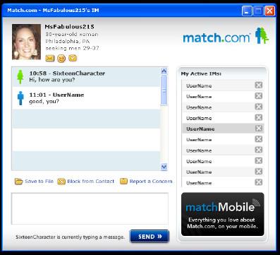 Match messenger