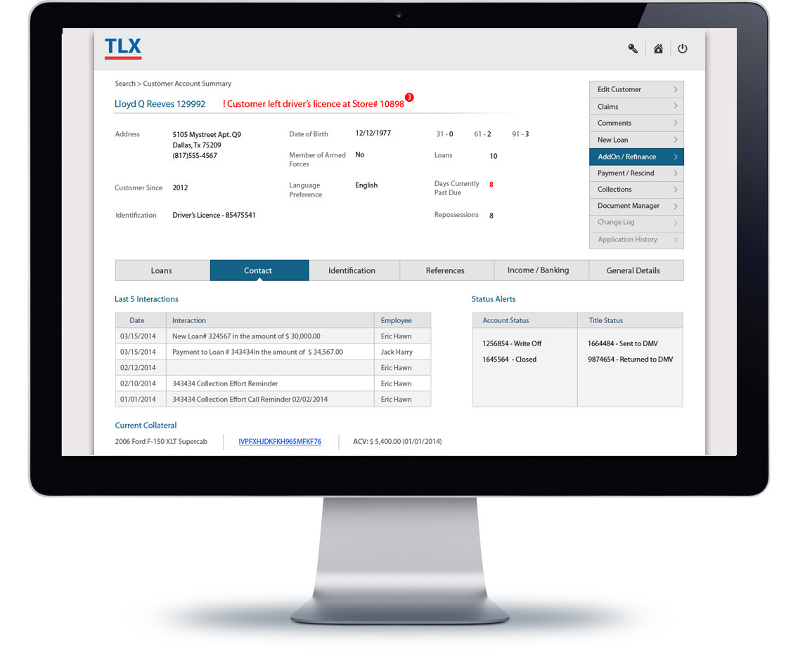 TLX software