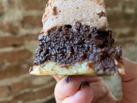 BROWNIE-COOKIE-FROSTING, un sueño hecho realidad (5 carbs por porción)
