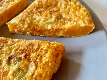 Tortilla española (sin patata)