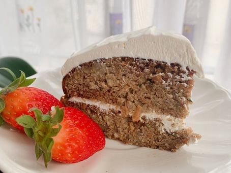 KETO CARROT CAKE (2,5 carbs). No hace falta decir más.
