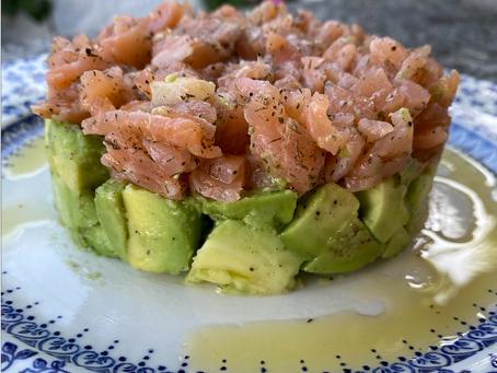 No sabías que  un Tartar de salmón era tan fácil de hacer