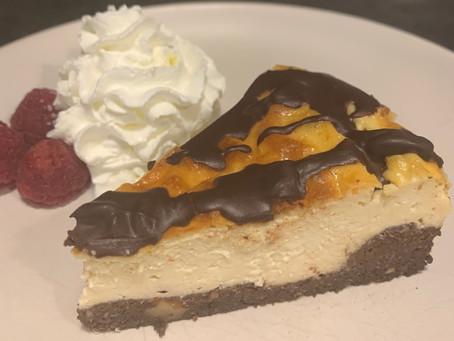 Keto-Cheesecake, la 8ª maravilla del mundo (2,2 carbs por porción)