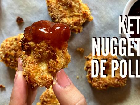 LOS MEJORES KETO CHICKEN NUGGETS QUE HAS PROBADO NUNCA!!! Cada nugget tiene 0,4 carbs ( al horno)