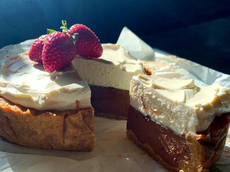 KETO Cheesecake de chocolate. PARA MO-RIR-SE de la emoción (5 carbs).