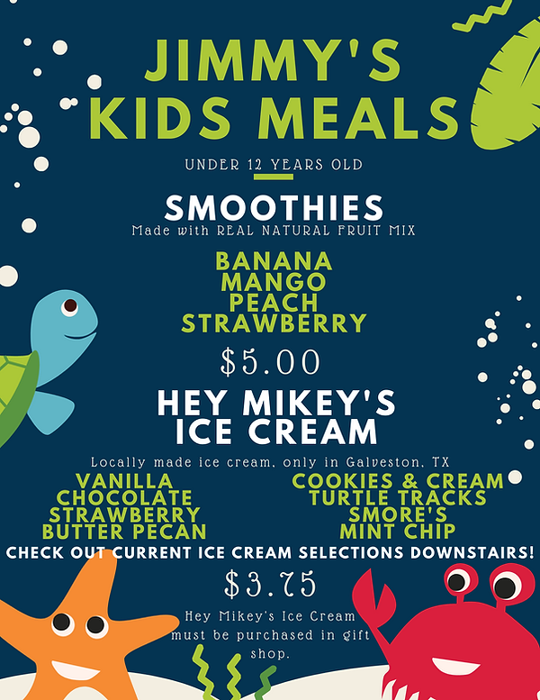 2020 Winter Kids Menu 2