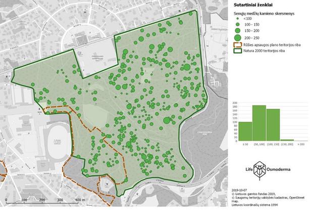 """Už aplinkos problemų žemėlapį """"Kauno ąžuolyno medžių būklė ir tvarkymo galimybės"""" įteikta premija"""