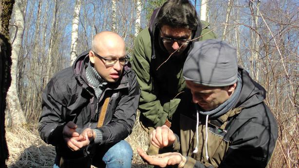 Projekto komanda gilino žinias mokomojoje išvykoje Latvijoje
